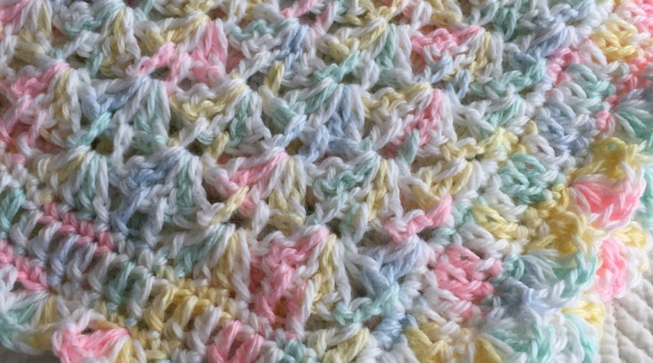 """Pastel Baby Afghan"" on Etsy"